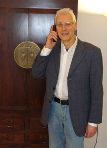 Valerio Cardinale bei der Sprachschule Centro in Frankfurt